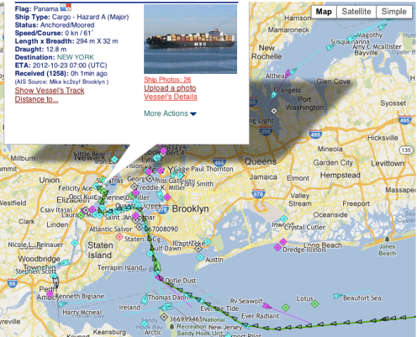 Our ship has come into the Port of NY!  Czech wine is in America (as soon as we clear customs)!